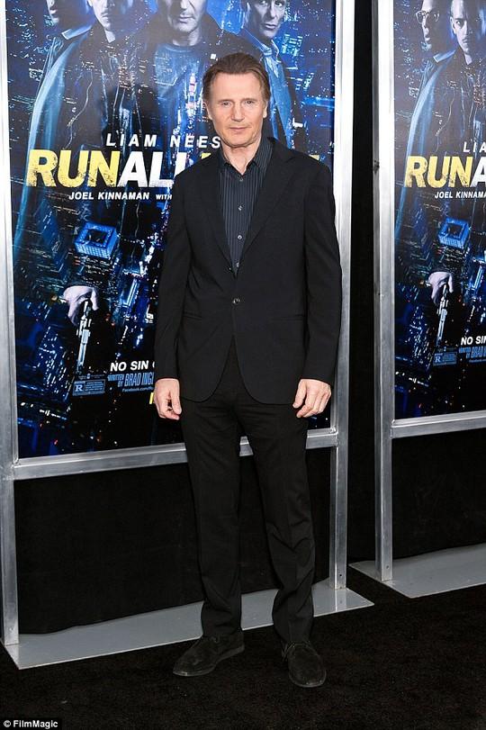 Liam Neeson tại buổi ra mắt phim