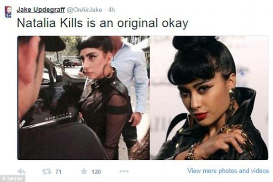Natalia Kills bị cho bắt chước Lady Gaga