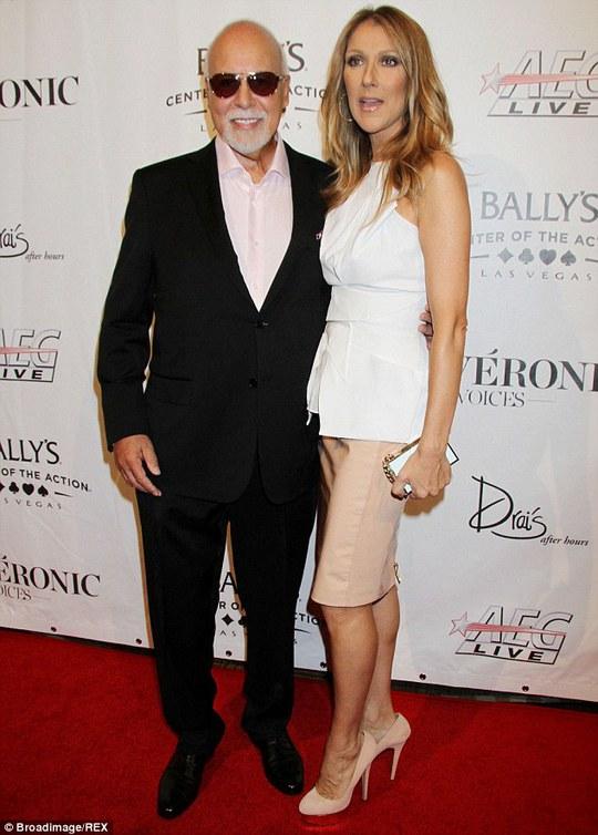 Vợ chồng Celine Dion