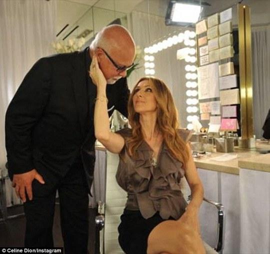 Celine Dion khóc kể chuyện chăm chồng bị ung thư