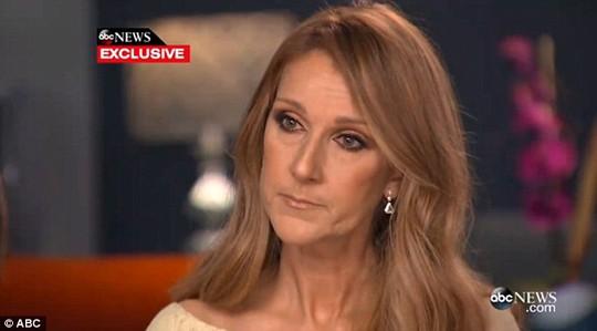 Celine Dion tâm sự về trận chiến chống ung thư của chồng