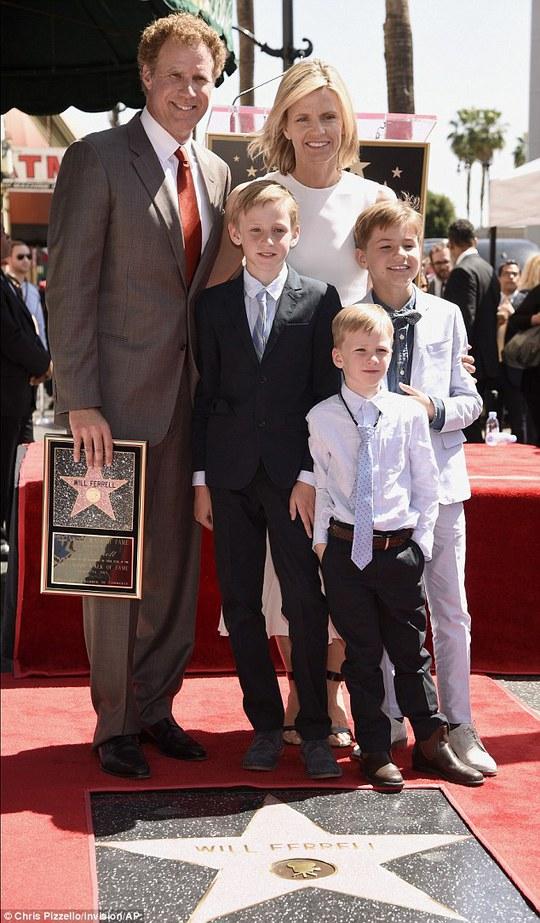 Đại gia đình Will Ferrell