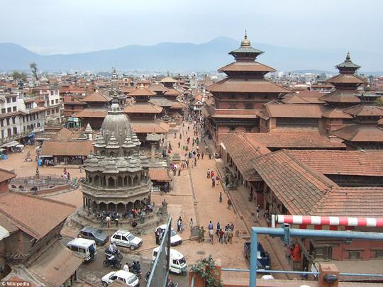 Quảng trường Kathmandu Durbar cổ kính... Ảnh: Wikipedia