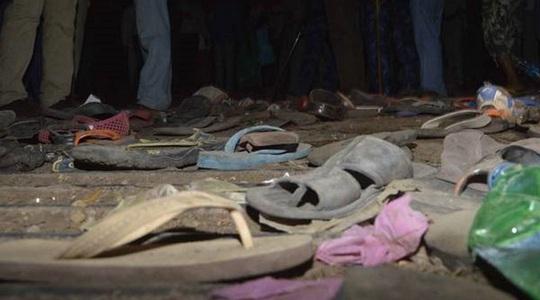 Vụ giẫm đạp tại Bangladesh khiến hàng chục người thương vong. Ảnh: PTI