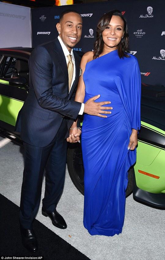 Ludacris với vợ