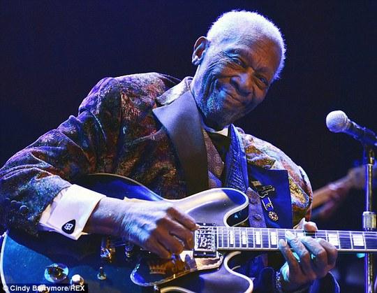 Huyền thoại nhạc blues B.B. King