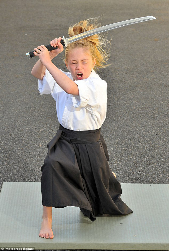 Cô bé Jesse Jane 9 tuổi
