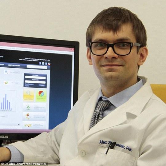 Bác sĩ Alex Zhavoronkov