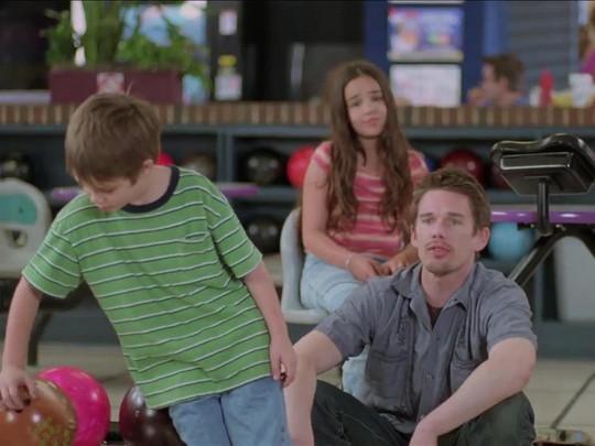 Cảnh trong phim Boyhood.