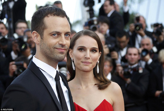 Natalie với chồng