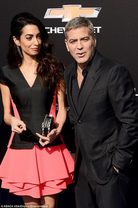 George Clooney và vợ hiện tại