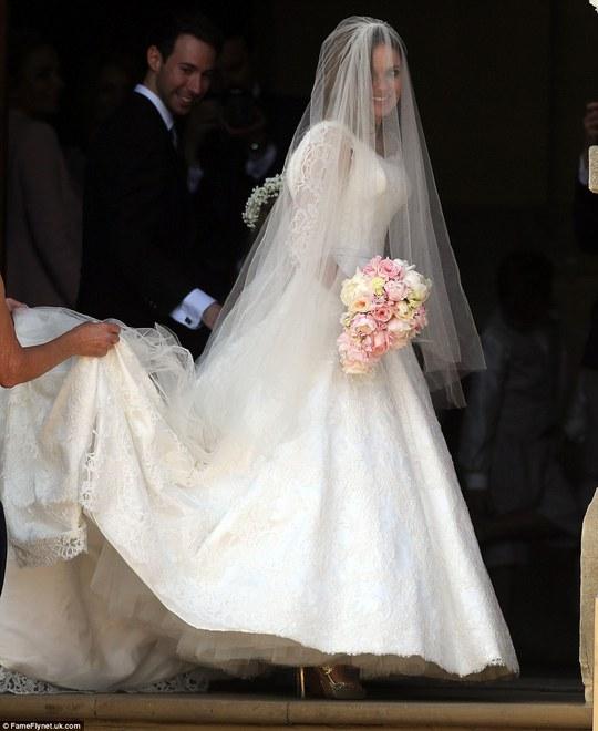 Vẻ đẹp của cô dâu