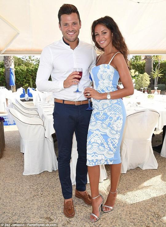 Mark Wright và vợ mới cưới