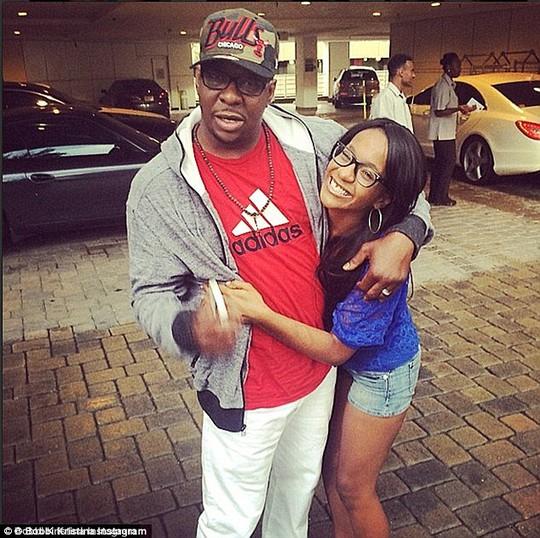 Bobbi Kristina Brown và cha cô, nam ca sĩ Bobby Brown