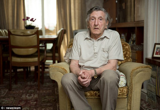 Ông Thomas Middleton, 87 tuổi. Ảnh: Newsteam