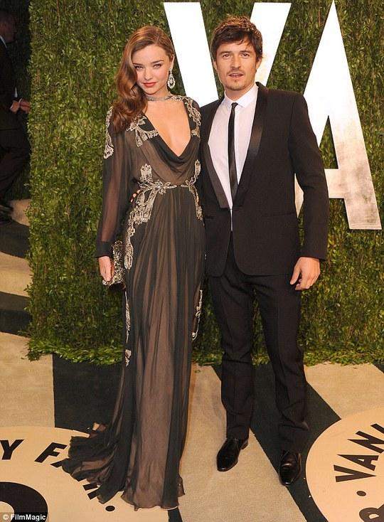 Miranda và chồng cũ Orlando