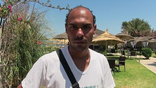 Mahdi đã rượt theo tay súng. Ảnh: Daily Mail