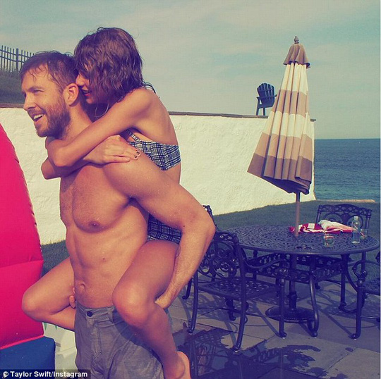 Taylor Swift và Calvin Harris