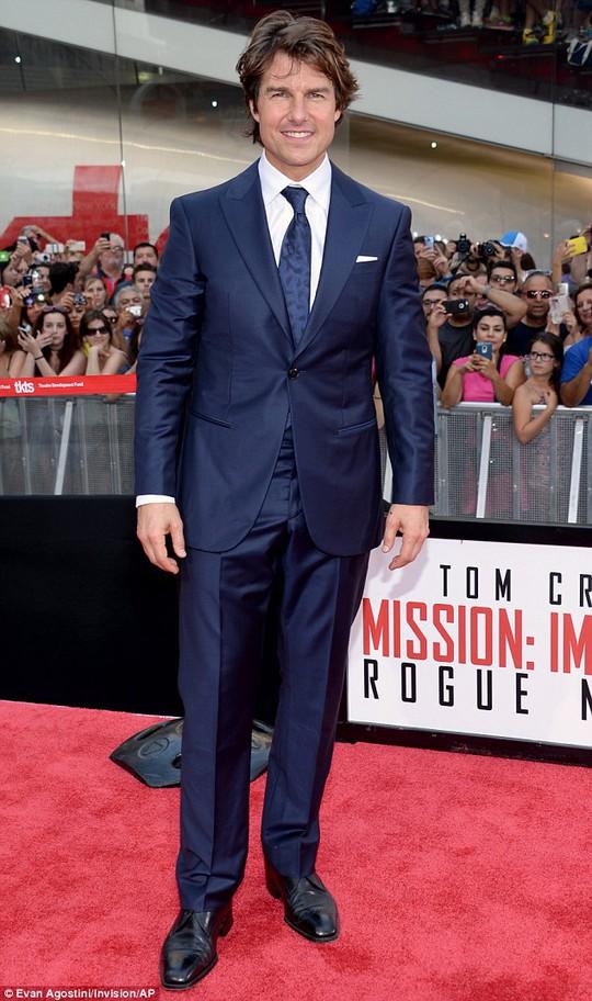 Tom Cruise tại Quảng trường Thời Đại ở New York-Mỹ