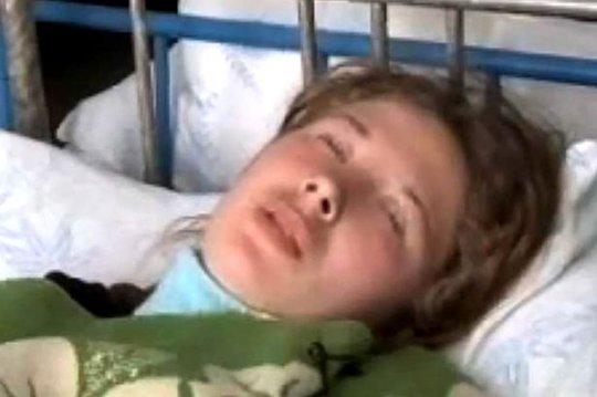 Một người phụ nữ chìm vào giấc ngủ sâu và kéo dài do ảnh hưởng của khí radon. Ảnh: Siberian Times
