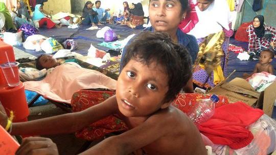 Nhiều phụ nữ và trẻ em là nạn nhân của bọn buôn người từ Myanmar. Ảnh: BBC