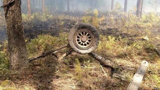 Hiện trường vụ tai nạn. Ảnh: BBC