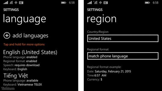 Thủ thuật nhỏ sử dụng Windows 10 trên điện thoại