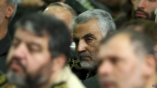 Tướng Soleimani. Ảnh: AP