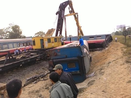 Hiện trường vụ tai nạn tối 10-3
