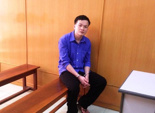 Bị cáo Nguyễn Chí Cường tại phiên tòa phúc thẩm