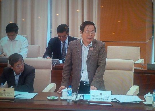 Ông Phùng Quốc Hiển lo lắng về cơ chế quản lý thu hồi vốn khi khai thác sân bay Long Thành