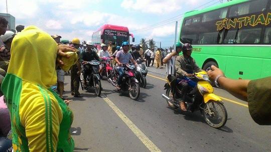 Nhiều người dân ở Trà Vinh không bất ngờ khi 2 xe Tân Thanh Thủy và Kim Hoàng gây ra vụ tai nạn thảm khốc trên cầu Ba Si