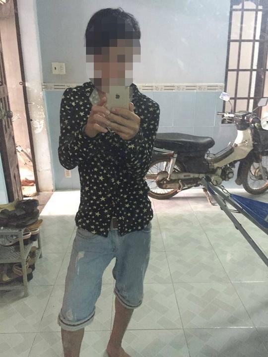 Ảnh Nguyễn Đình Lộc đang được phổ biến trên mạng