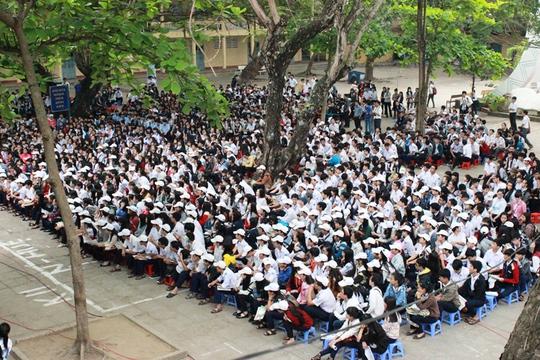 Chương trình thu hút sự tham dự của hơn 2.000 học sinh