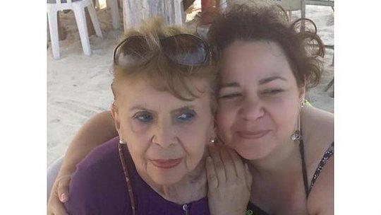 Patricia Urrutia (phải) và bà Margarita Suarez lúc còn sống. Ảnh: Facebook