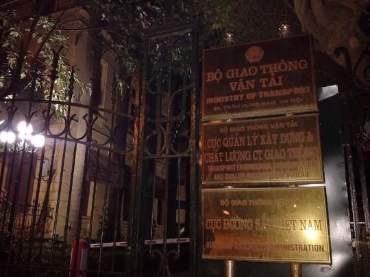 Trụ sở Cục Đường sắt Việt Nam, nơi ông Nguyễn Hữu Thắng chết trong phòng làm việc. Ảnh: NGUYỄN QUYẾT