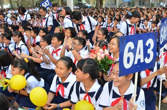 Năm nay, Trường THPT Chuyên Trần Đại Nghĩa không tổ chức thi tuyển vào lớp 6 như mọi năm Ảnh: TẤN THẠNH