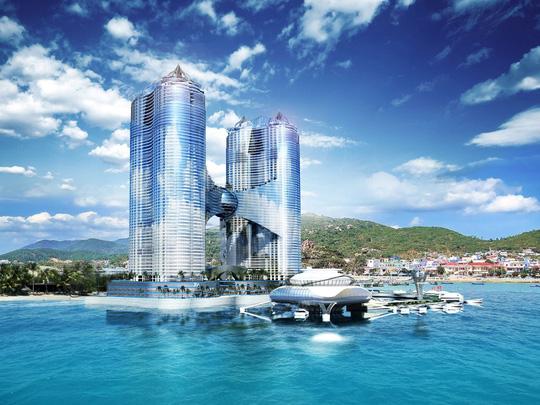 Phối cảnh cao ốc vườn Phoenix 65 tầng của Tập đoàn Dewan Ảnh: PHOENIXBEACH-VIETNAM.COM