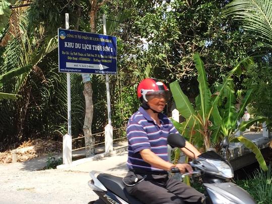 Khu Du lịch Thới Sơn (TP Mỹ Tho, tỉnh Tiền Giang) vắng khách