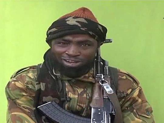 Abubakar Shekau, thủ lĩnh của Boko Haram. Ảnh: National Post lấy từ video clip