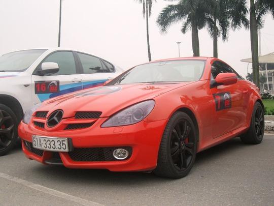 Mercedes SLK350 màu cam, niềm mơ ước của dân chơi xe thể thao