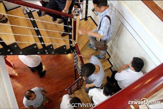 Nội thất bên trong. Ảnh: CCTV