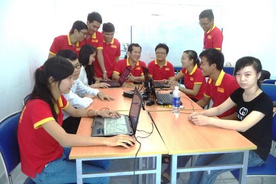 Sinh viên thực tập dự án tại Trung tâm ATHENA