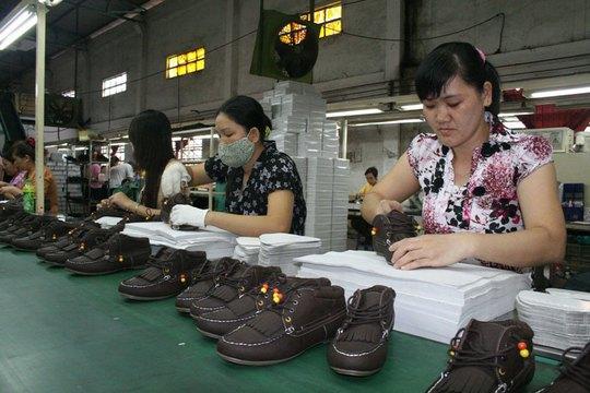 Chủ trương lấy đãi ngộ làm gốc giúp Công ty TNHH Giày da Tích Hanh ổn định lao động sau Tết