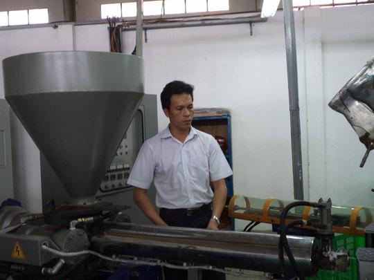 Tận tụy và sáng tạo trong công việc là tố chất của anh Hồ Quang Thủy