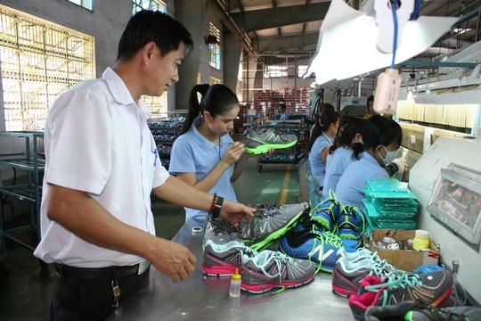 Công ty Việt Nam Samho nhanh chóng vượt qua khó khăn, ổn định sản xuất nhờ sự đồng lòng vượt khó của tập thể lao động Ảnh: KHÁNH LÊ