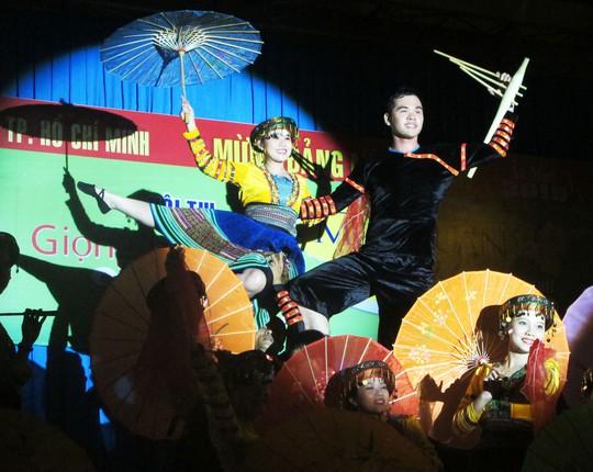 Tiết mục múa của Công đoàn Eximbank đoạt giải nhất thể loại múa