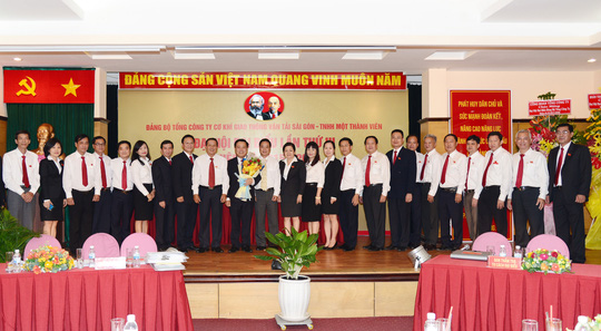 Ban Chấp hành Đảng bộ Samco nhiệm kỳ 2015-2020 ra mắt đại hội