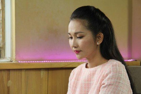 Kim Hiền đóng phim khi đang mang bầu đứa bé thứ 2