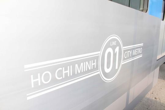 Chiêm ngưỡng các toa tàu điện ngầm đầu tiên của Việt Nam